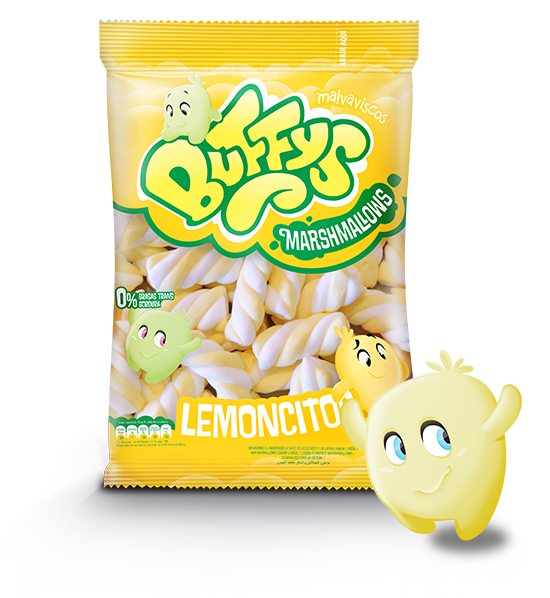 Malvaviscos Buffys Lemoncitos